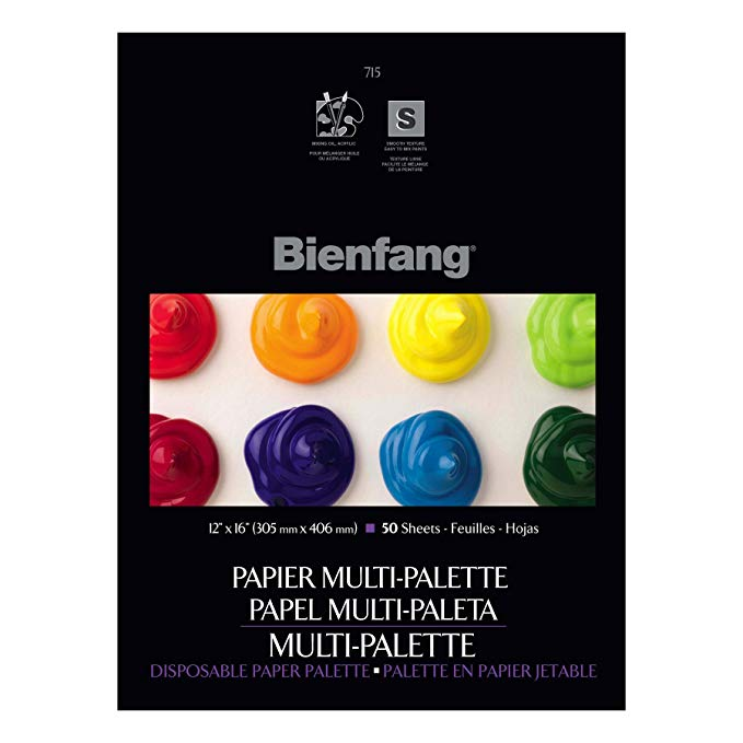 "Bienfang Disposable Paper Palette 12"" x 16"""
