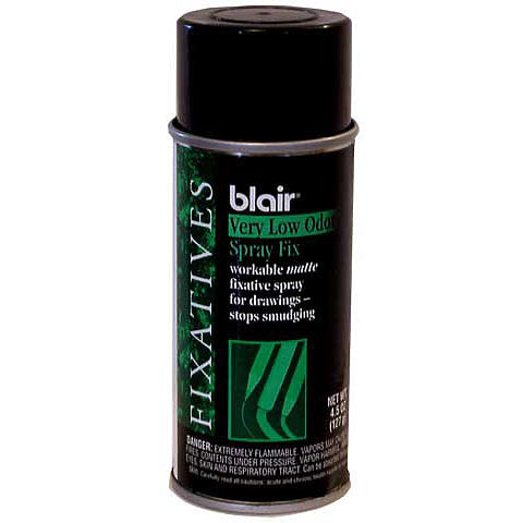 Blair Low Odor Fixatives Spray, 12 oz.