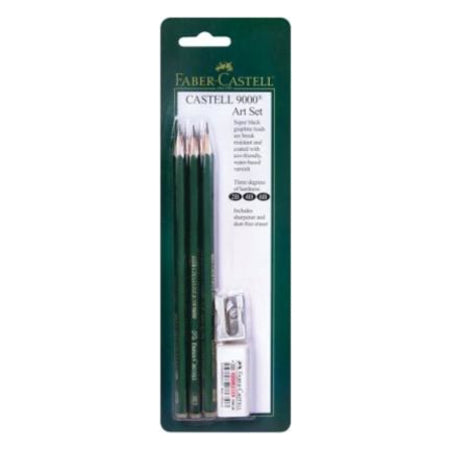 Faber-Castell 9000 Graphite Pencil Set