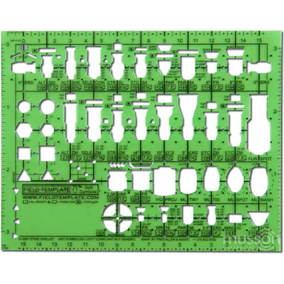 "1/4"" Stage Fixture Field Template"