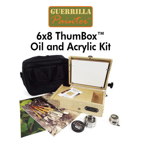 Guerrilla Painter  6x8 ThumBox™ Oil and Acrylic Kit