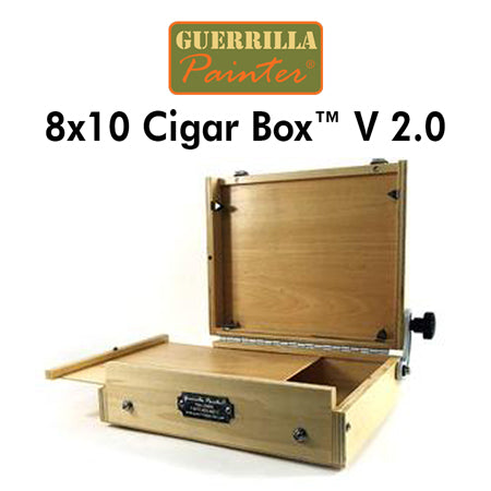 Guerrilla Painter 8x10 Cigar Box™ V 2.0