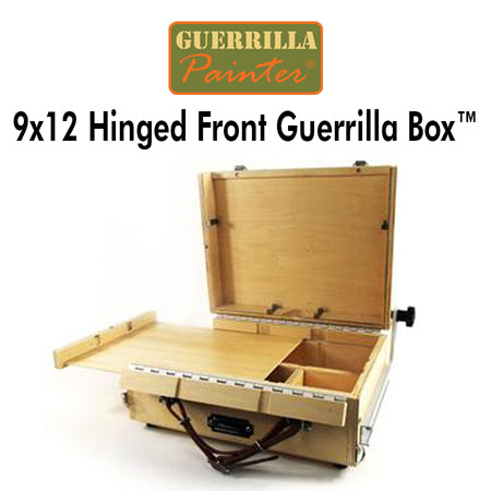 Guerrilla Painter 9x12 Hinged Front Guerrilla Box™