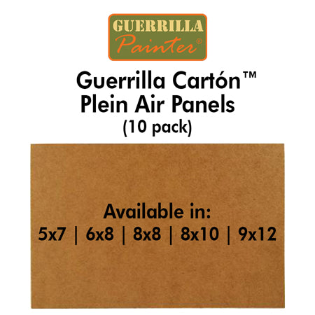 Guerrilla Painter Guerrilla Cartón™ Plein Air Panels (10 pack)