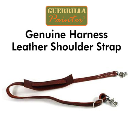 Guerrilla Painter Genuine Harness Leather Shoulder Strap