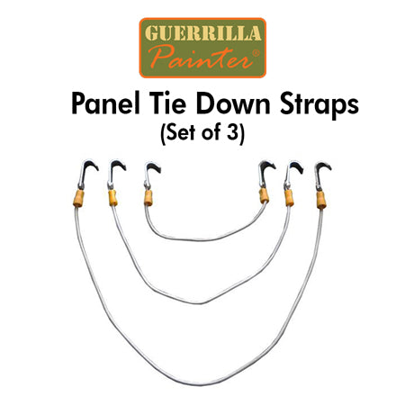 Guerrilla Painter Panel Tie Down Straps