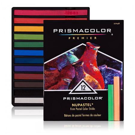 Prismacolor NuPastel 12 Assorted Colors