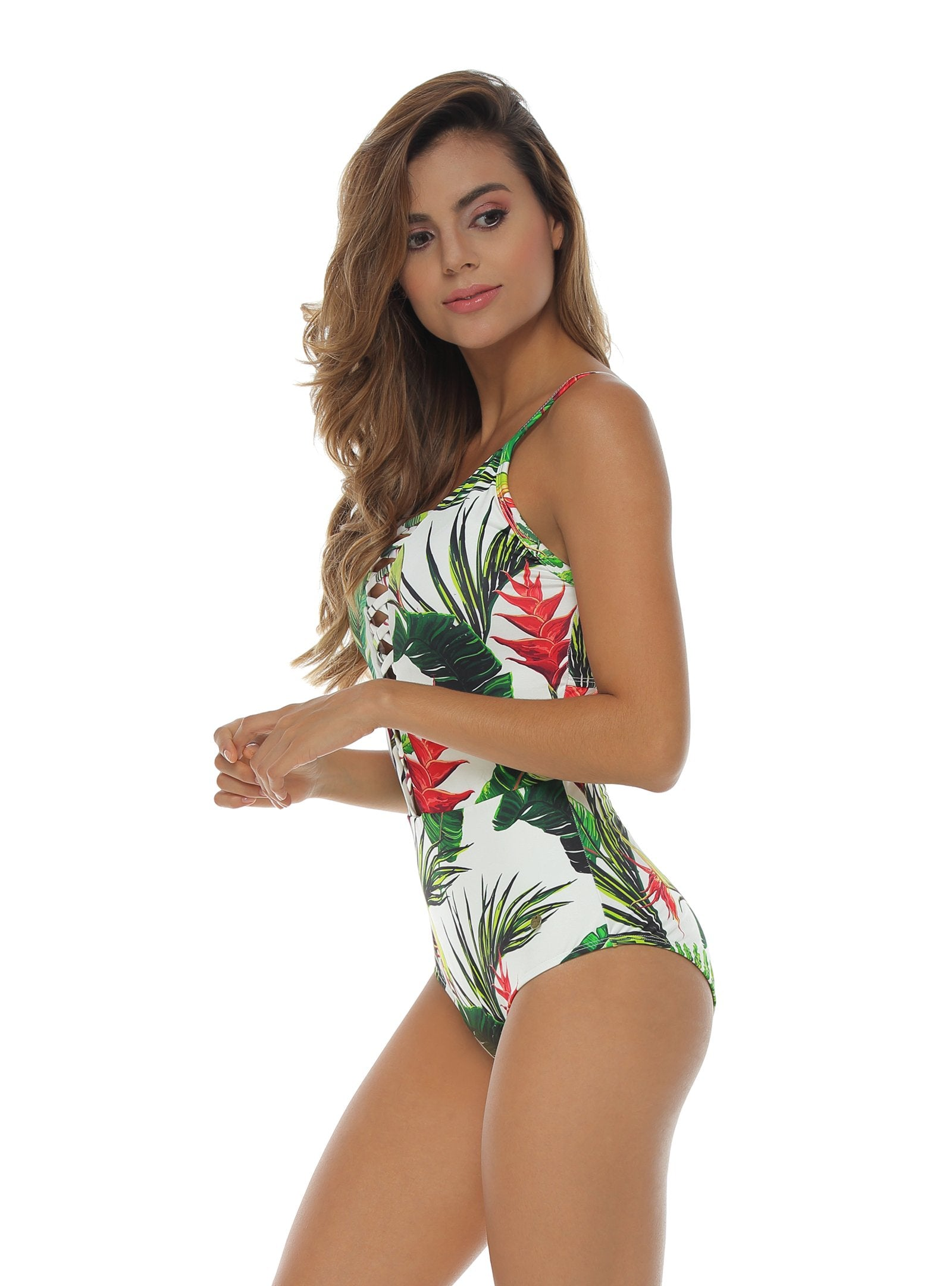 One piece printed swimsuit Ref: 1213