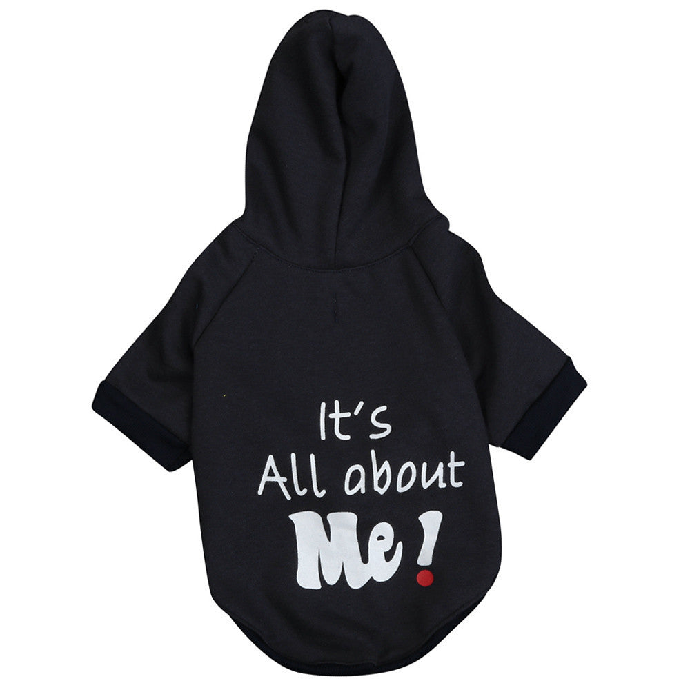 Small Dogs Winter Warm Jumpsuit It's All About Me Winter Hooded Coat