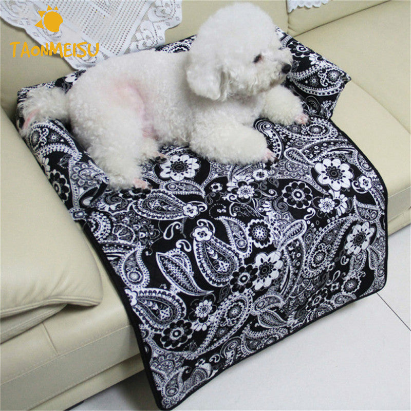 Pets Dogs Cats Small Sized Luxury Sofa Bed Cover Car Seat Cover