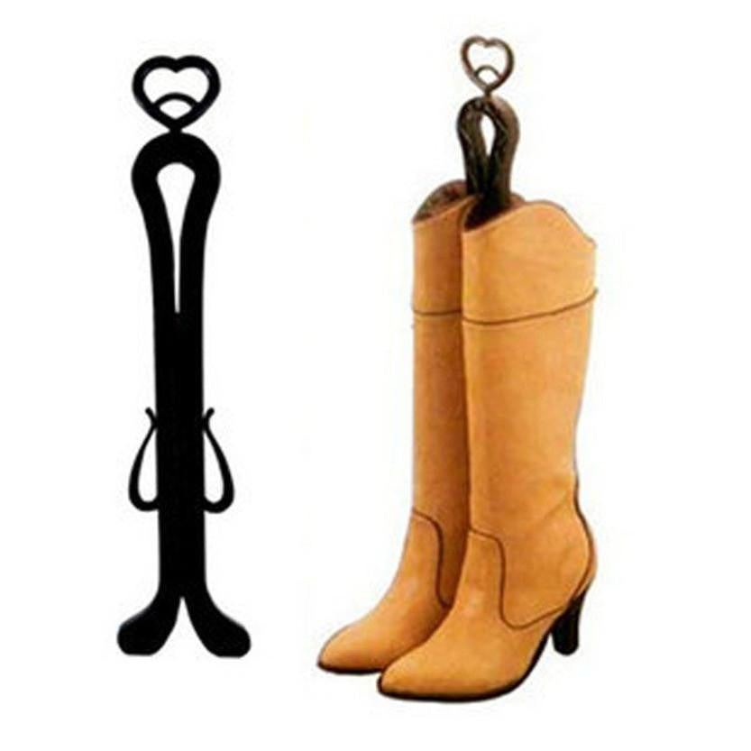 Popular Plastic Long Boots Shaper Boot Holder with Storage Hanger