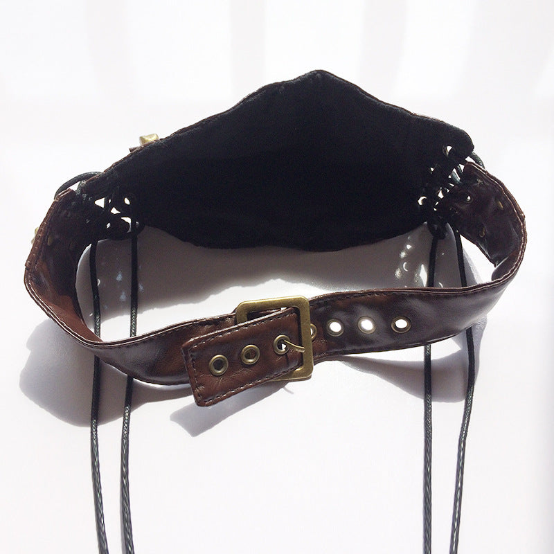 New Gothic Steampunk Skull Rivets Anti Dust/Fog Fashion Mask