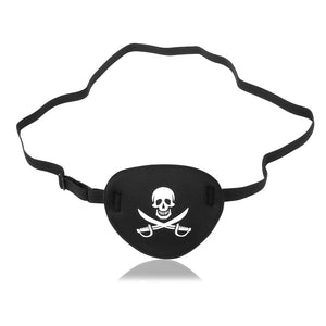 Adults Pirate Eye Patch Skull Crossbone Eye Patch Eye Mask