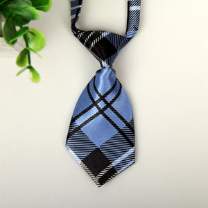Pets Small Dogs Cats Striped Neck Tie 5 Styles Colours