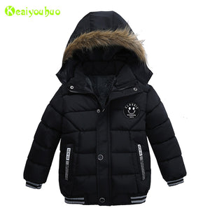 Baby Boys Warm Winter Hooded Jacket Kids Childrens Winter Jackets