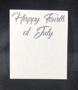 Happy Fourth of July Card - 10 pack