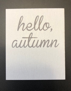 Hello, Autumn Card - 10 pack