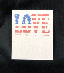 Patriotic Love Card - 10 pack