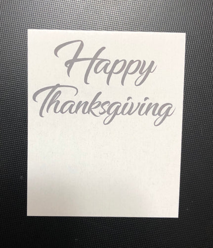 Happy Thanksgiving Card - 10 pack