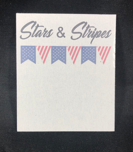 Stars & Stripes Card - 10 pack