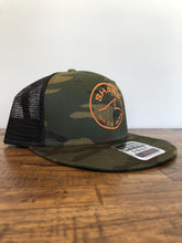Shark Standard Trucker Hat- Camo
