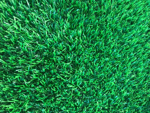 Green Grass From Sprayer Fertilizer