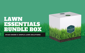 Simple lawn essentials bundle box