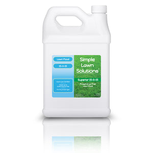 Lawn Food: 15-0-15 Phosphorus- Free (1 Gallon)