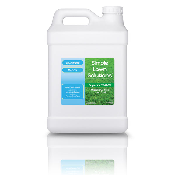 Lawn Food: 15-0-15 Phosphorus- Free (2.5 Gallons)