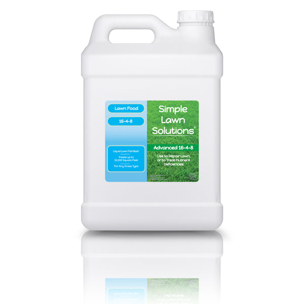 Lawn Food: 16-4-8 Complete Balanced NPK (2.5 Gallons)