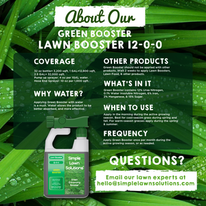 Lawn Booster: Intense Green Booster (32 ounce)
