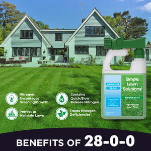 Lawn Food: 28-0-0 High Nitrogen (32 ounce)