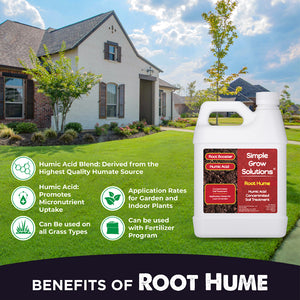 Root Hume: Raw Organic Humic Acid (32 Ounce)