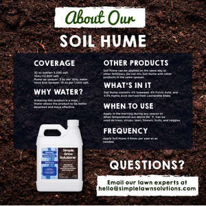 Soil Hume: Seaweed, Humic/ Fulvic Acid Soil Treatment (1 Gallon)