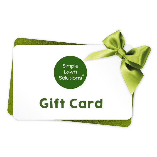 Simple Lawn Solutions Gift Card