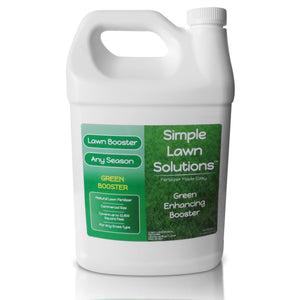 Lawn Booster: Intense Green Booster (1 Gallon) - Simple Lawn Solutions