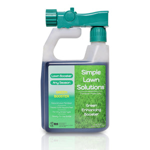 Lawn Booster: Intense Green Booster (32 ounce) - Simple Lawn Solutions