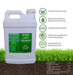 Lawn Booster: Intense Green Booster (2.5 Gallon) - Simple Lawn Solutions
