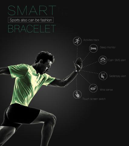Fit Bit Wristband Fitness Tracker Watch