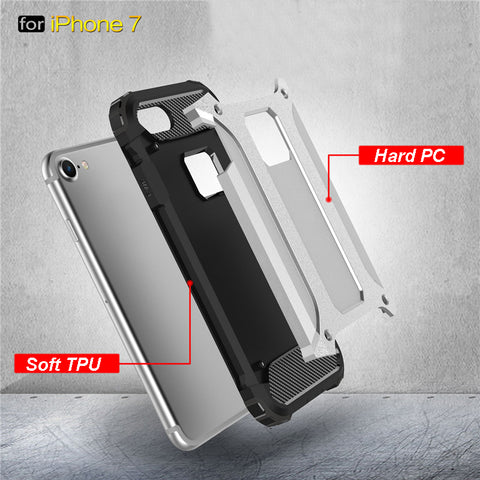 iPhones Heavy Duty Protection case