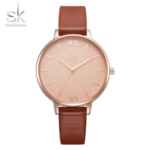 Woman Watch Leather Bracelet