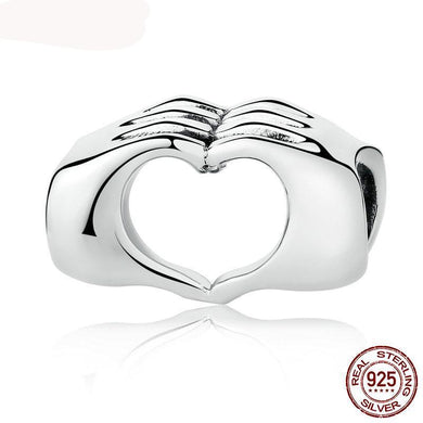 Hand to Hand Hearts Charm Beads | fanaticdeal.com