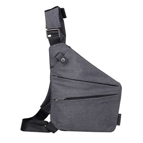 Unisex Anti-Theft Messenger Bag