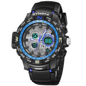 Sports Watches Dual Display