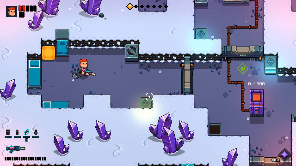 Space Robinson: Hardcore Roguelike Action