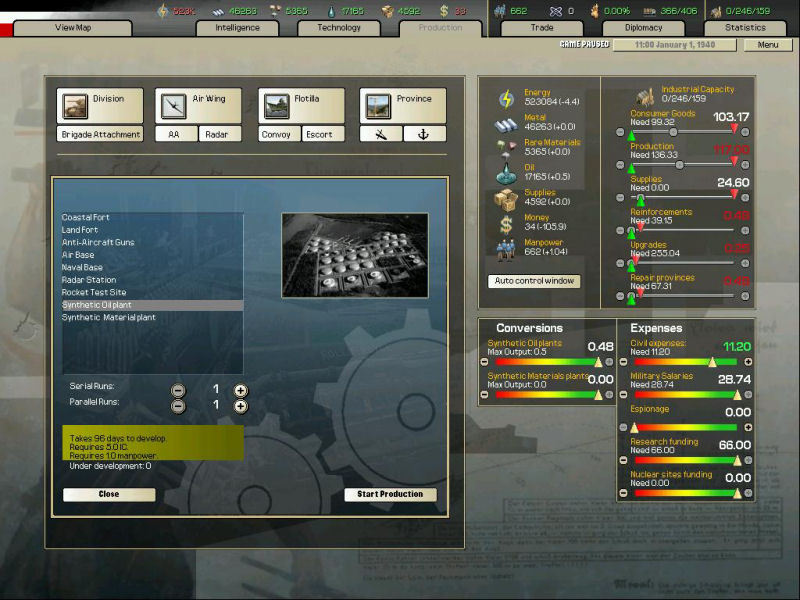 Arsenal of Democracy: A Hearts of Iron Game