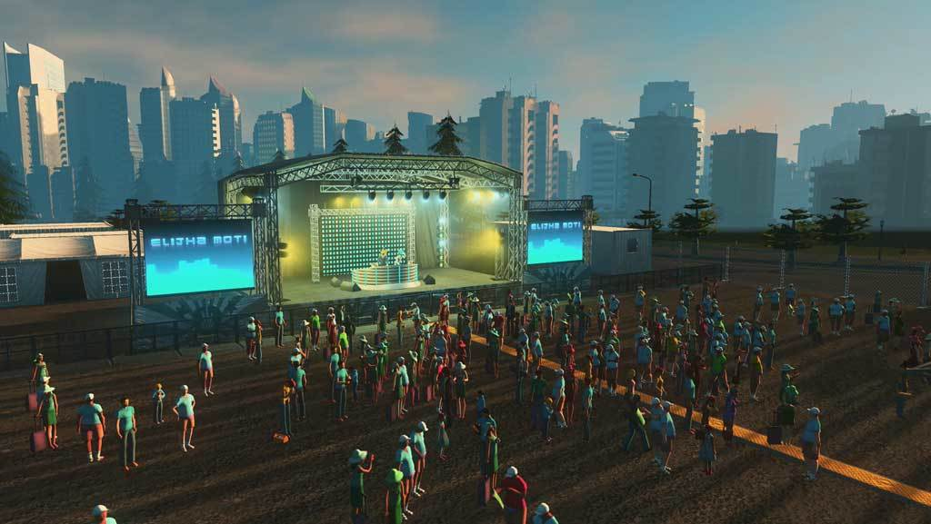 Cities: Skylines - Concerts - DLC