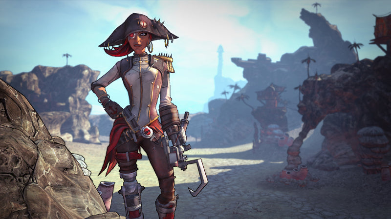 Borderlands 2 - Captain Scarlett and her Pirate's Booty - DLC