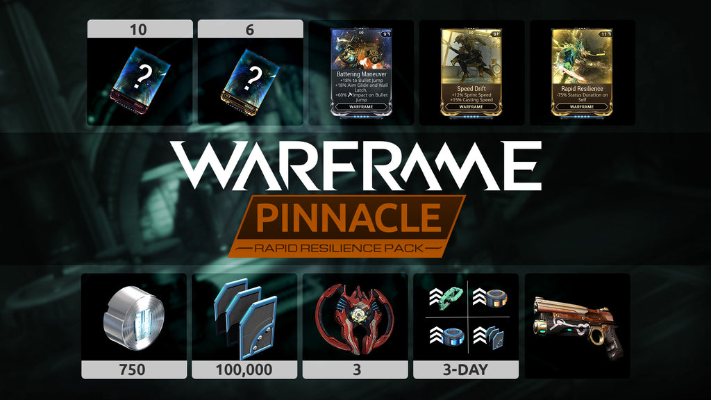 Warframe: Rapid Resilience Pinnacle Pack - DLC