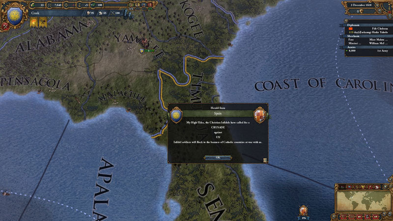 Europa Universalis IV: Conquest of Paradise - Expansion - DLC